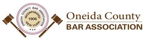 Oneida County Bar Association logo